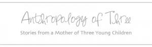 Anthropology of Three | Raw Silk Living Editorial